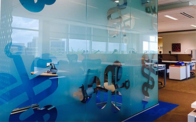 Static Cling Window Film is displayed as a decorative film used for privacy and security
