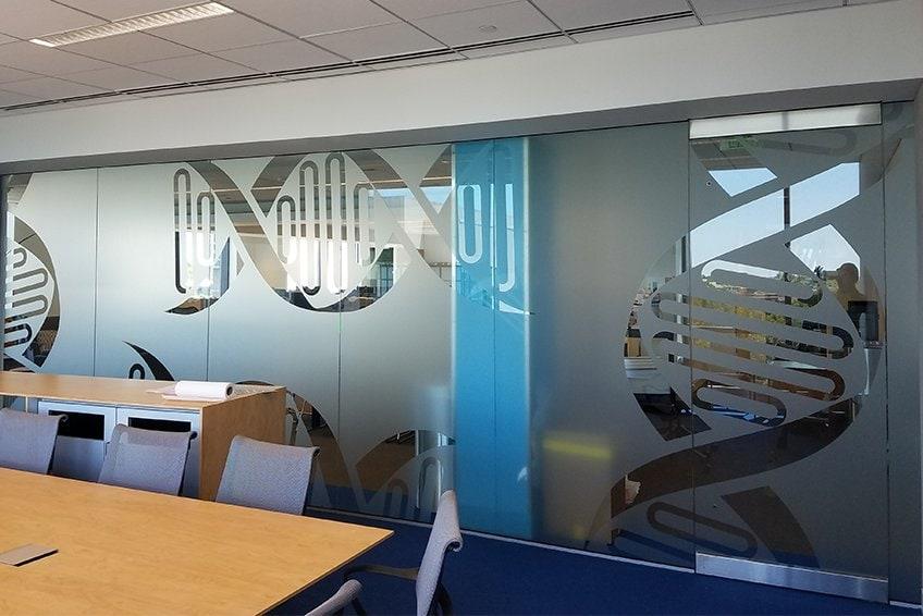 custom window film for businesses