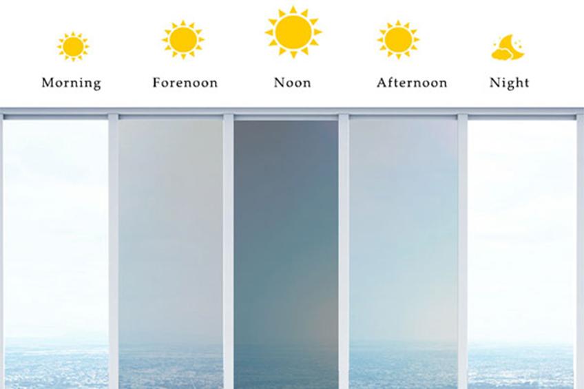 photochromic window film